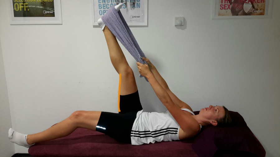 2nd Stage Hamstring Stretch