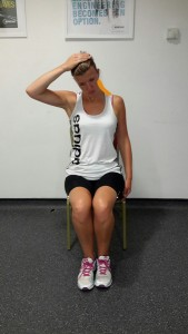 3rd Stage Back of Neck Stretch