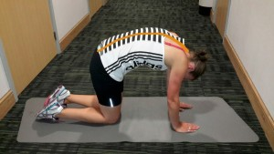 Kneeling Back Stretch