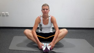 Seated Inner Thigh Stretch