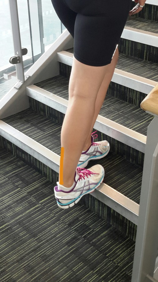 Stair Calf Stretch