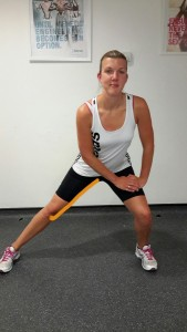 Standing Inner Thigh Stretch