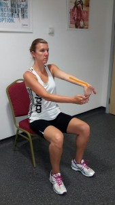 Wrist and Under Forearm Stretch